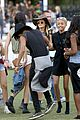 kendall and kylie jenner hang out with jaden and willow smith at coachella14