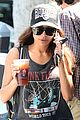 naya rivera larchmont coffee run 04