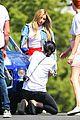 ashley tisdale photoshoot hot yoga 14