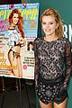 bella thorne bn nyc signing umbrella 27