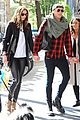 jamie campbell bower matilda hold hands nyc 01