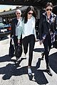 kendall jenner arrives cannes kylie touches up blue hair 04