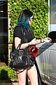 kendall jenner arrives cannes kylie touches up blue hair 15