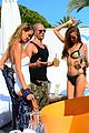 the wanted max george mingles bikini babes marbella 03