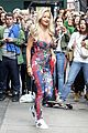 rita ora flower chanel jumpsuit 00