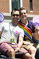 jonathan groff grand marshall nyc gay pride parade 03