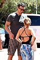 hayden panettiere flashes totally bare baby bump on vacation 03