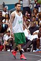 justin bieber chris brown bet celeb basketball game 20