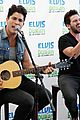 dan shay z100 interview blake bus 03