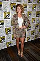 rose mciver david anders izombie press line sdcc 10