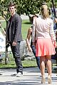 grant gustin emily bett rickards flash arrow crossover filming 27