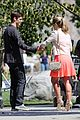 grant gustin emily bett rickards flash arrow crossover filming 31