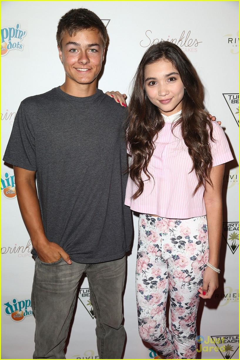 girl meets world cast hits the red carpet at blake michael s 18th
