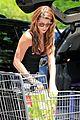 ashley greene dresses up grocery shopping 04