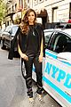 nina dobrev promotes lets be cops all over new york 16