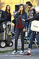 victoria justice drives car on set eye candy 03