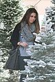 ashley argota christmas tree shopping 01