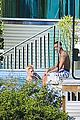 justin bieber goes shirtless at beverly hills mansion 24
