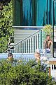 justin bieber goes shirtless at beverly hills mansion 27