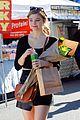 stefanie scott stocks up on supplies at farmers market 04