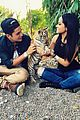 becky g austin mahone cheetahs get schooled event 03