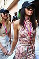 kendall jenner gigi hadid pucker up at grand prix in monaco 07
