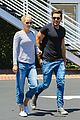 claire holt male friend lunch date after engagement 11