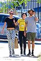 miley cyrus grab sushi lunch before july 4th weekend 01