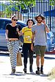 miley cyrus grab sushi lunch before july 4th weekend 14