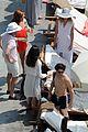 darren criss mia swier italy poolside vacation 19