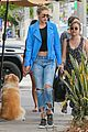 gigi hadid joe jonas kings road lunch 14