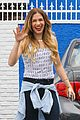 allison holker andy grammer hugs studio dwts thurs 14