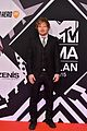 ed sheeran ruby rose 2015 mtv emas 05