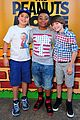 peanuts movie gang photo call knotts berry farm 03