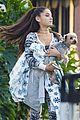 ariana grande onesie dog shopping 07
