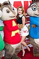 bella thorne alvin chipmunks road chip premiere 11