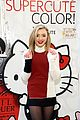 peyton list hello kitty opi launch nyc 08