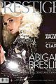 abigail breslin prestige hong kong cover 01