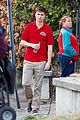 ansel elgort pizza delivery guy new movie atl 09