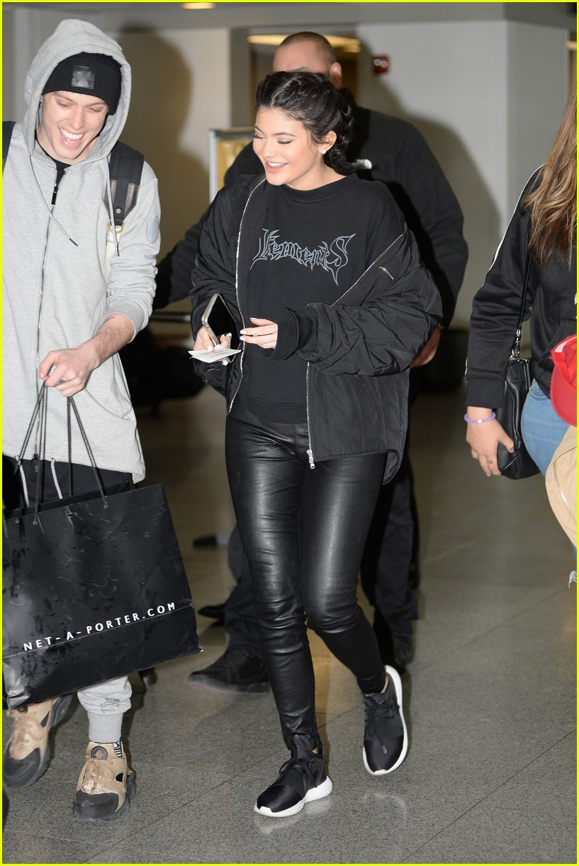 Kylie Jenner Wears Adidas Shoes Just Hours After Puma Deal