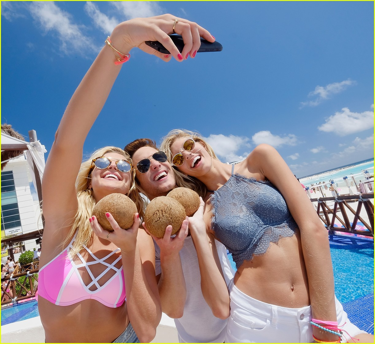 Go Boneta Lives The Spring Break Dream At Pink Nation S Beach Party Photo 942863 Gallery Just Jared Jr