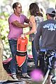 zac efron the rock film baywatch on a scooter 50