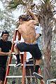 zac efron goes shirtless for tarzan like baywatch moment 27