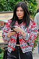 kylie jenner back from vail 01