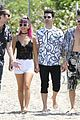dnce miami volleyball tourney iheart pool party 11