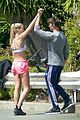 patrick schwarzenegger abby champion weekend workout undying 07