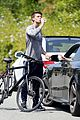 patrick schwarzenegger abby champion weekend workout undying 14