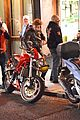 thomas brodie sangster biker hangout london 11