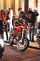 thomas brodie sangster biker hangout london 15