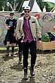 nicholas hoult douglas booth check out glastonbury festival 06